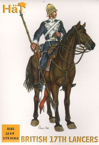 Hat - 17th British Lancers - 1:72
