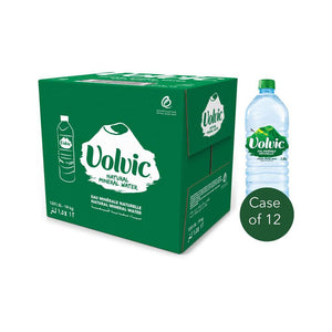 Volvic Natural Spring Water (12 X 1.5 L)