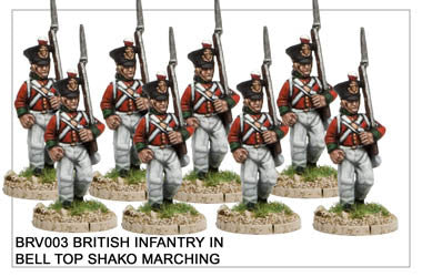 BRV003 British Infantry Marching