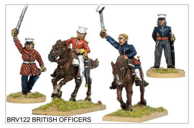 BRV122 British Officers