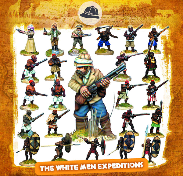 CONGO Box Set 1 - The White Men Expeditions
