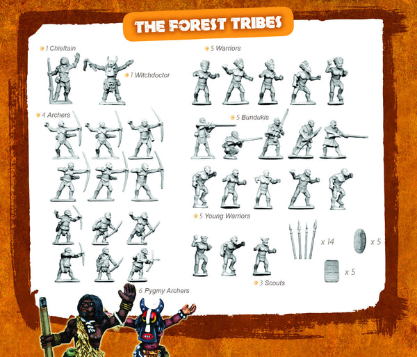 CONGO Box Set 3 - The Forest Tribes