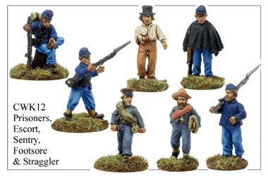 CWK012 Prisoners, Escort, Sentry, Footsore and Straggler