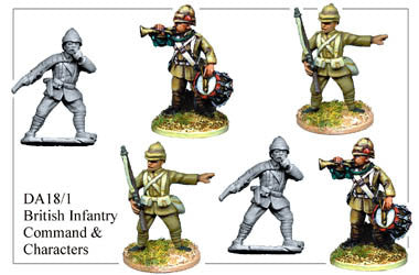 DA181 British Infantry Command