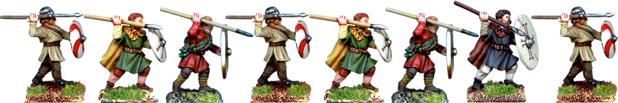 LR030 - Arthurian Infantry Attacking