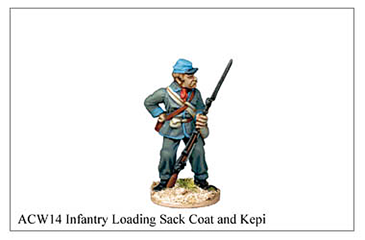ACW014 - Infantry Loading Sack Coat And Kepi