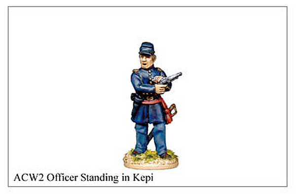ACW002 - Officer Standing In Kepi