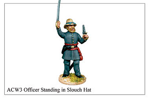 ACW003 - Officer Standing In Slouch Hat