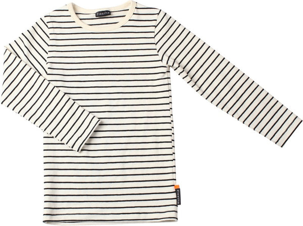 Ziestha t-shirt l/s, stripes