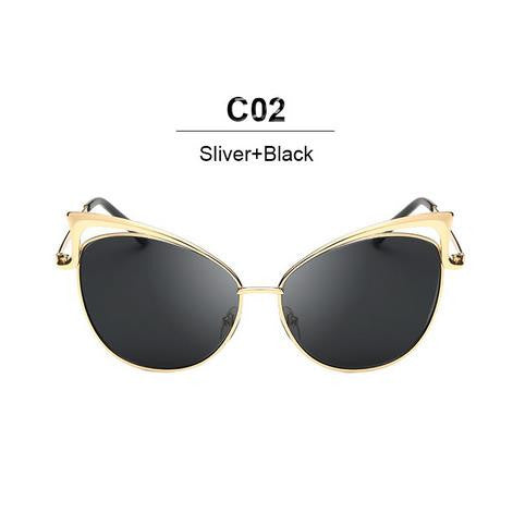 Peaked Mirror Sunglasses (Multiple Styles)