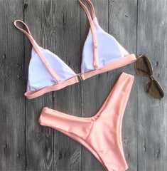 PRETTY IN PINK TWO PIECE BIKINI