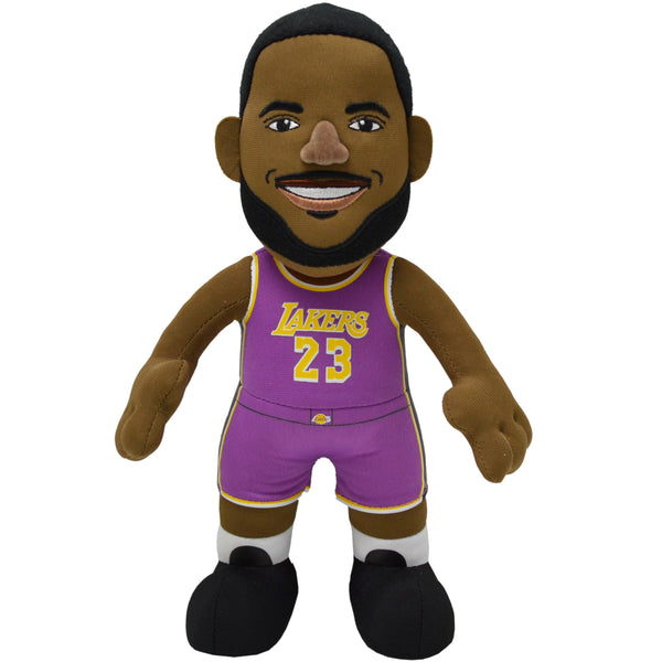"Los Angeles Lakers® LeBron James Statement 10"" Plush Figure"