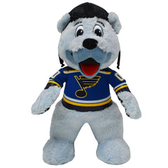 "St Louis Blues Bundle: Mascot Louie and Vlad Tarasenko 10"" Plush Figures PRESELL SHIPS 9/15"