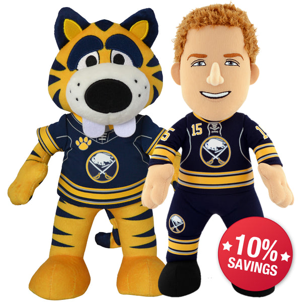 Buffalo Sabres® Dynamic Duo- Sabretooth and Eichel (10% Savings!)