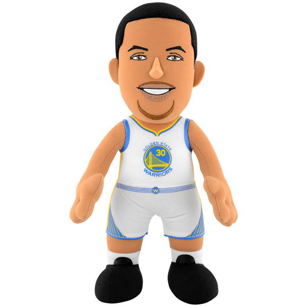 "Golden State Warriors Steph Curry 10"" Plush Figure (White Jersey)"
