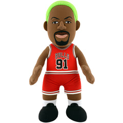 "Chicago Bulls® Dennis Rodman 10"" Plush Figure"