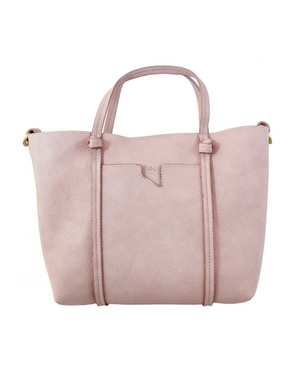 Flowerbed Creek Satchel in Peony