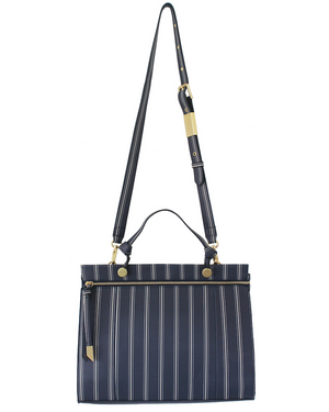 Dione Satchel in Slumber Stripe
