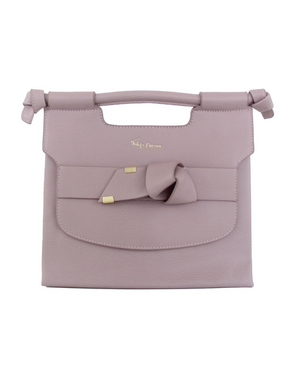 Carlie Satchel in Violet Blush