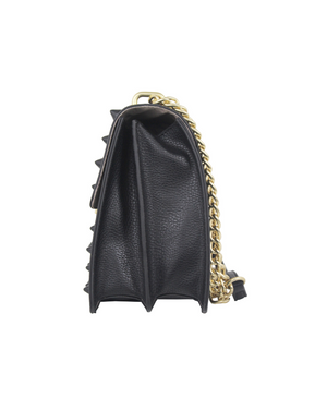Bandit Chain Crossbody in Black