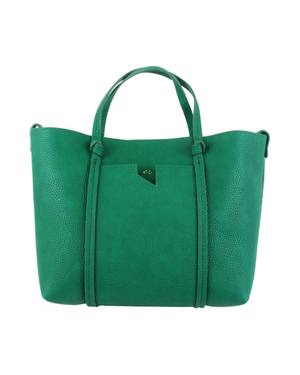 Flowerbed Creek Satchel in Green