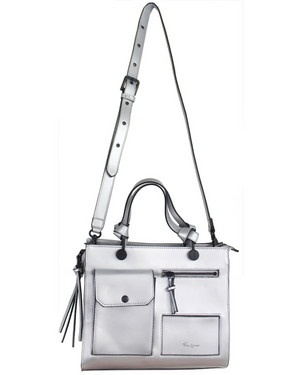 Anna Satchel in Silver