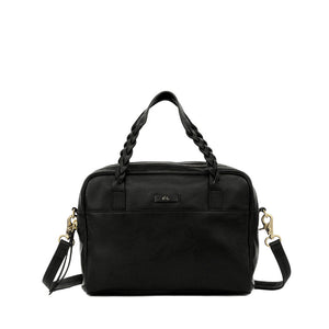 Cable Satchel in Black