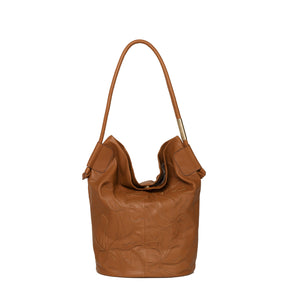 Lilli Bucket Tote in Honey Brown