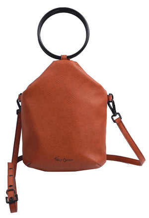 Jitnie Ring Bag in Cognac