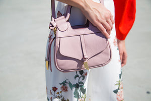 Brittany Mini Satchel in Lilac Chiffon
