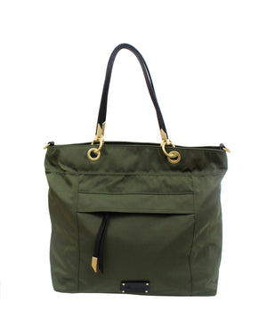 Fusion Nylon Tote in Desert Green