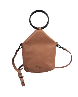 Jitnie Ring Bag in Tan