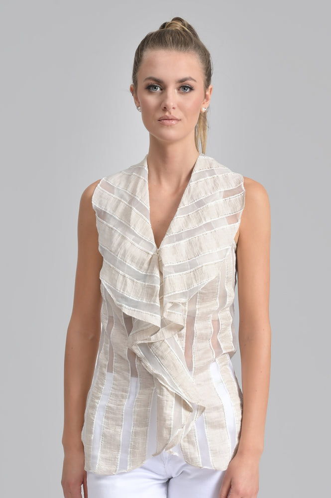 Flow Tunic - Tan Print