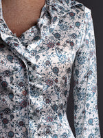 Bravo  -  Small Flower Print Shirt - Farinaz Taghavi