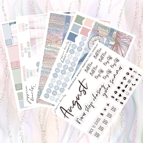 Sparkle January Notes Page Kit