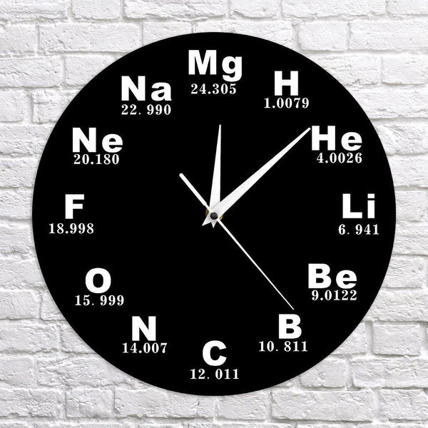 Chemical Elements Periodic Table Clock