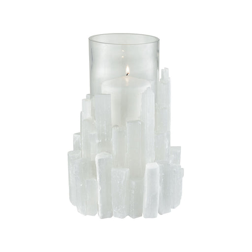 2215-1001 Shiverpeak Vase Natural Rock Crystal, Clear Glass