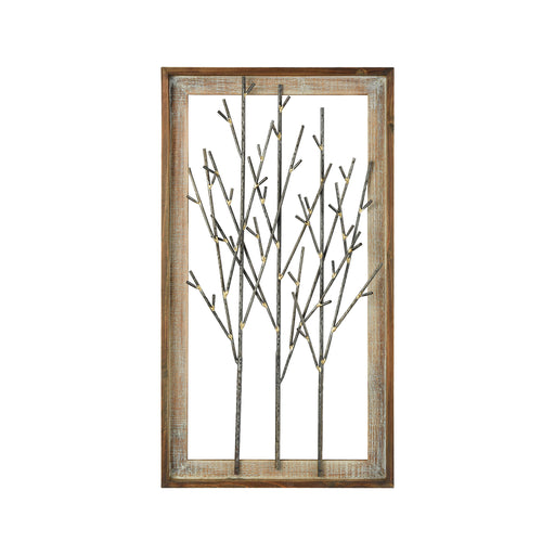 916229 Forester Wall Decor Mixed Metals, Roast