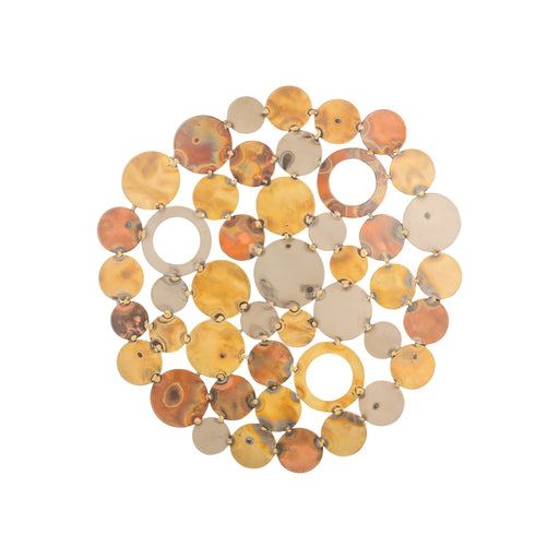 916649 Novell Small Wall Decor Mixed Metals