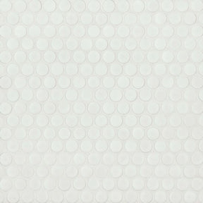"360 3/4"" X 3/4"" Floor & Wall Mosaic in White Matte, Sold by the Piece"