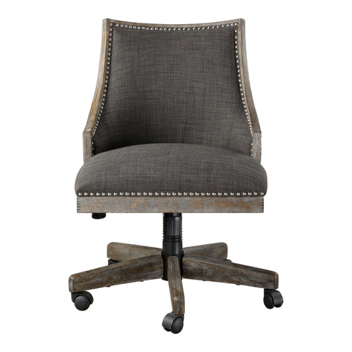 Aidrian Charcoal Desk Chair