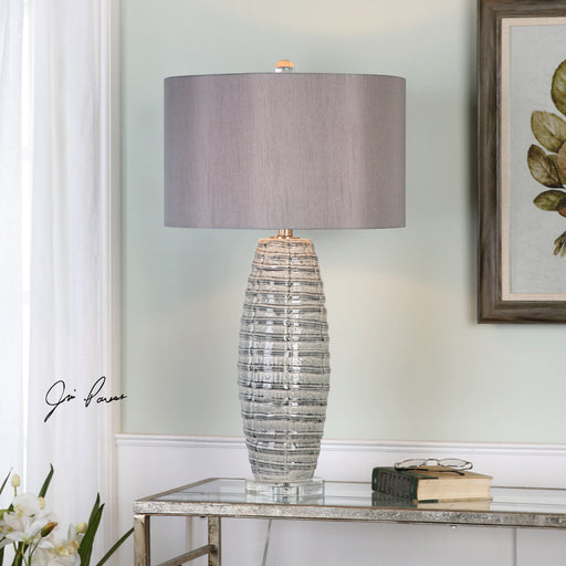 Brescia Gray Ceramic Lamp