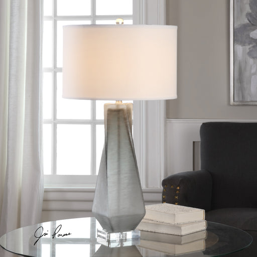 Anatoli Charcoal Gray Table Lamp