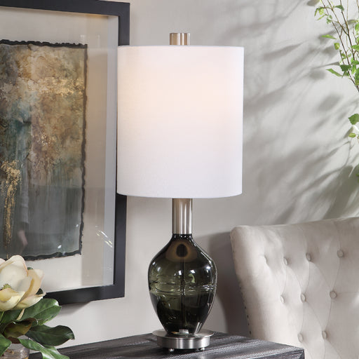 Aderia Sage Green Accent Lamp