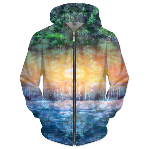 Rainforest Waterfall Hoodie