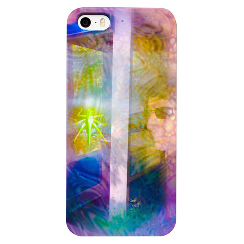 Time Traveling Grasshopper Phone Case