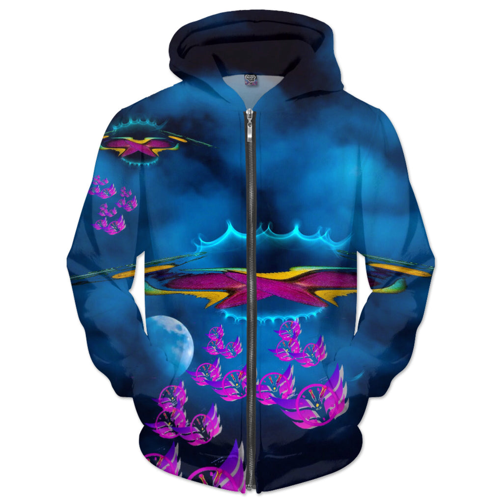 Time Flies To Mothership Hoodie