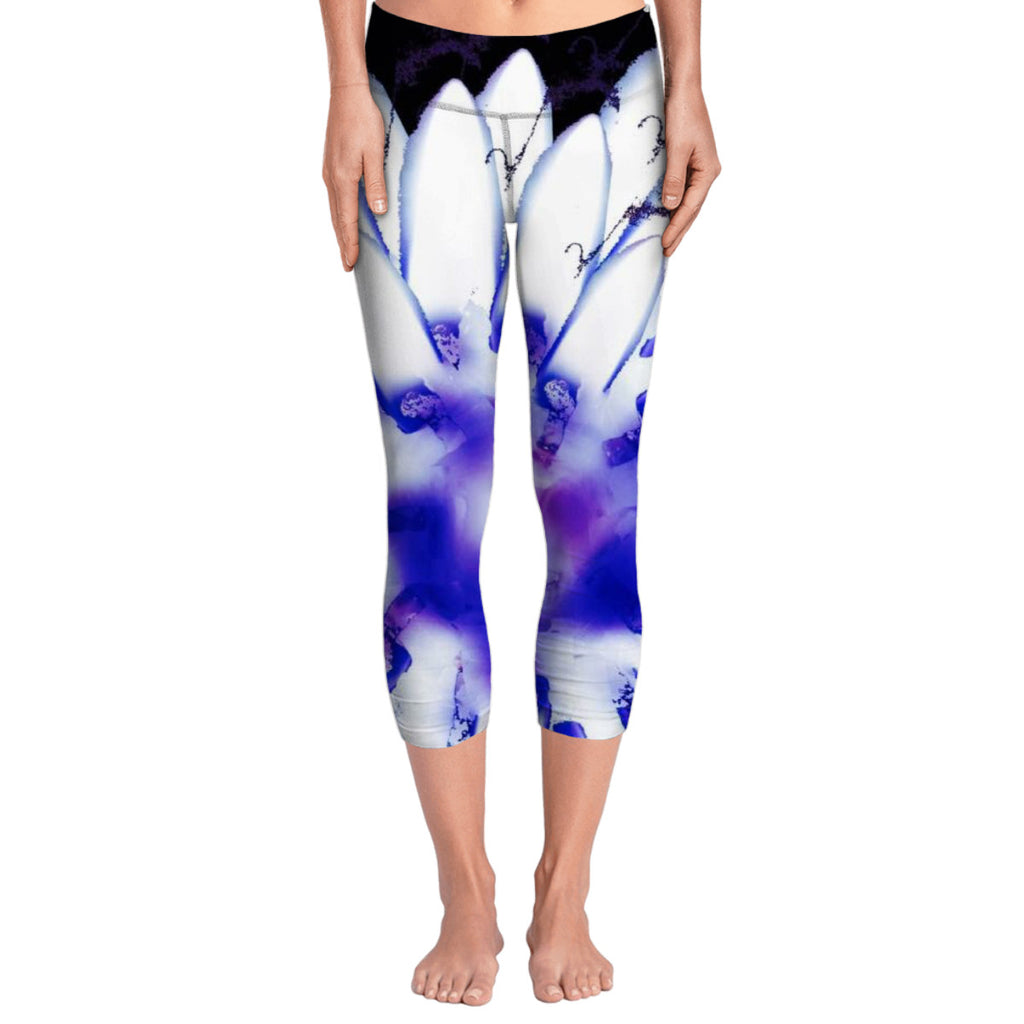Flame Flower Yoga Pants