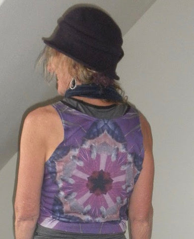 Tortue Violet Crop Top