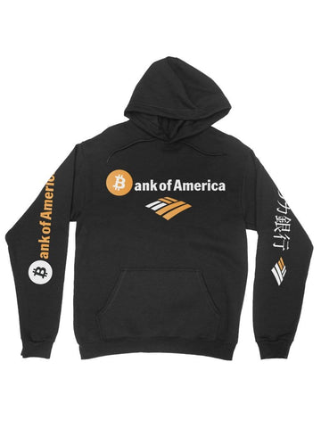bitcoin of america black hoodie - Public Space xyz - vaporwave aesthetic clothing fashion, kawaii, pastel, pastelgrunge, pastelwave, palewave
